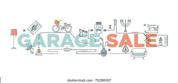 Garage Sale Sign Images, Stock Photos  Vectors Shutterstock