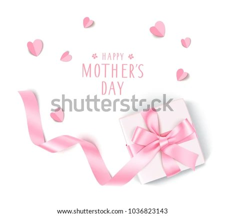 Happy Mothers Day Holiday Template Design Stock Vector (Royalty Free