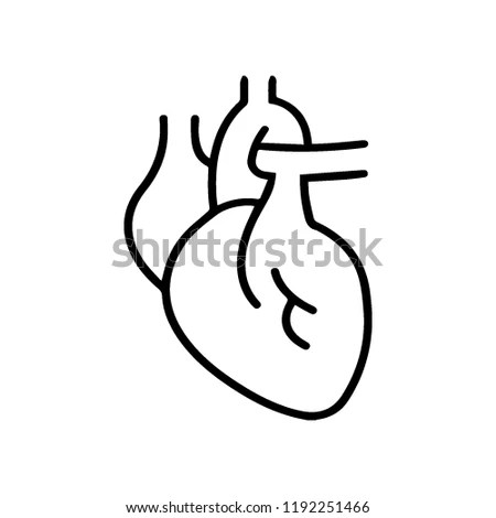 Heart Medic Health Stock Vector (Royalty Free) 1192251466 - Shutterstock