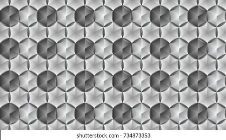 Aluminum Hexagon Stock Vectors, Images  Vector Art Shutterstock