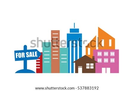 House Sale Real Estate Market Analysis Stock Vector (Royalty Free