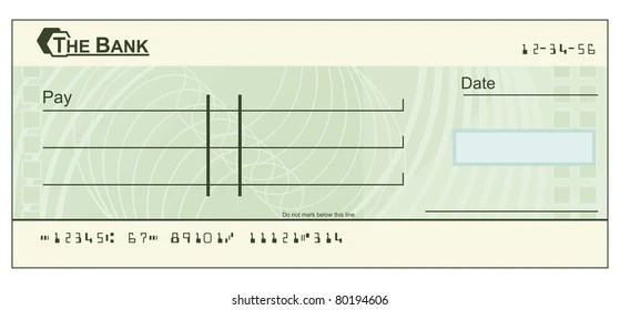 Blank Check Fake Numbers Images, Stock Photos  Vectors Shutterstock