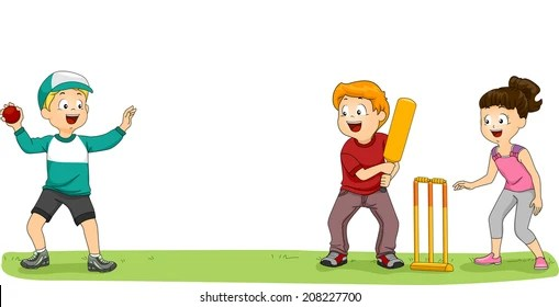 Playing Cricket Images, Stock Photos  Vectors Shutterstock