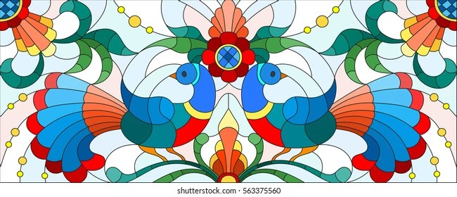 stained glass pattern Images, Stock Photos  Vectors Shutterstock