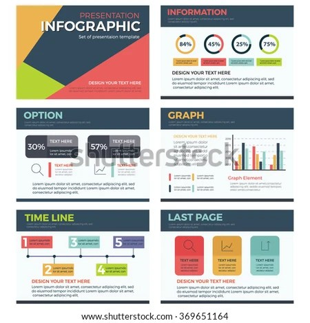 Infographic Presentation Template Powerpoint Business Marketing