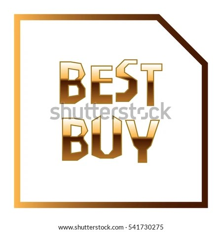 Label Template Word Best Buy Square Stock Vector (Royalty Free