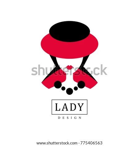 Lady Design Fashion Beauty Salon Studio Stock Vector (Royalty Free