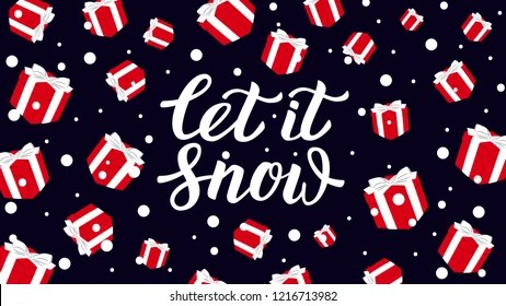 let it snow Images, Stock Photos  Vectors Shutterstock