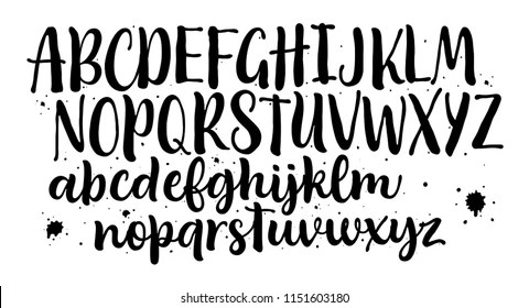 hand lettering alphabet Images, Stock Photos  Vectors Shutterstock