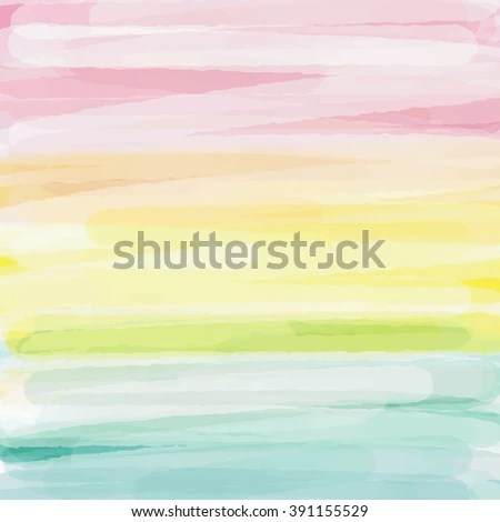 Light Blue Green Yellow Pink Love Stock Vector (Royalty Free
