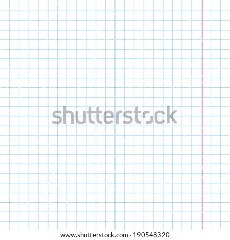 Lined Paper Background Vector Illustration Stock Vector (Royalty