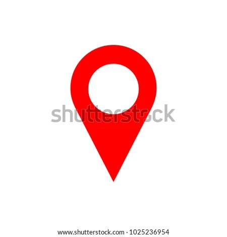 Maps Pin Location Pin Pin Icon Stock Vector (Royalty Free
