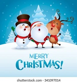 Reindeer Wallpaper Cute Christmas Im 225 Genes Fotos Y Vectores De Stock Shutterstock