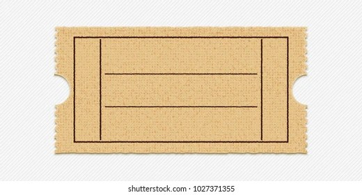 Blank Ticket Stub Images, Stock Photos  Vectors Shutterstock