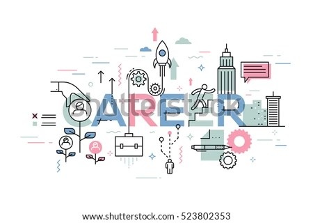 Modern Creative Infographic Banner Elements Thin Stock Vector