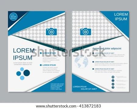 Modern Professional Booklet Vector Design Business Stock Vector