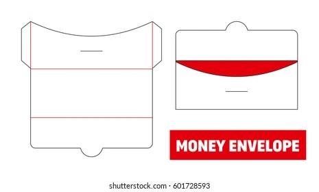 Money Envelope Template Images, Stock Photos  Vectors Shutterstock