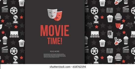 cinema background Images, Stock Photos  Vectors Shutterstock
