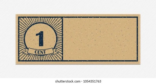 Blank Vintage Ticket Images, Stock Photos  Vectors Shutterstock - blank voucher