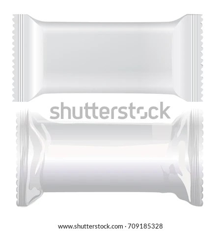 Packing Label Bar Template On White Stock Vector (Royalty Free