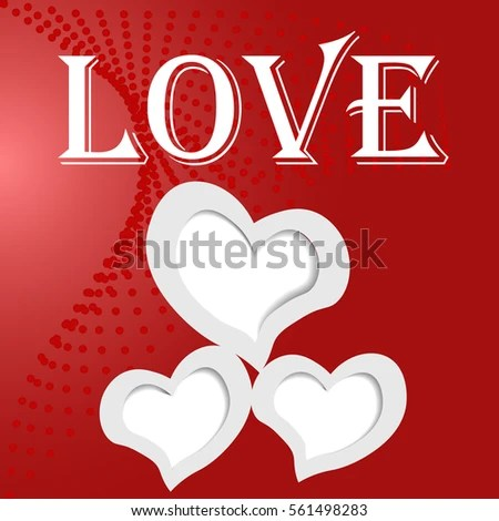 Photo Frames Shape Heart Word Love Stock Vector (Royalty Free - word design frames