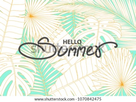 Poster Background Design Simple Style Space Stock Vector (Royalty