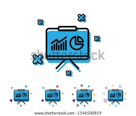 Blue Presentation Board tri fold board ideas fold poster board