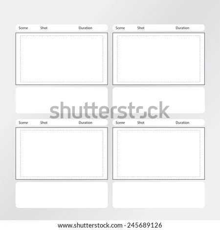 tv commercial storyboard template - Barcaselphee