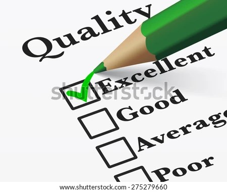 Quality Control Survey Business Products Customer Stock Vector