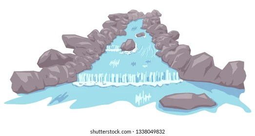 water stream and rock Stock Vectors, Images  Vector Art Shutterstock