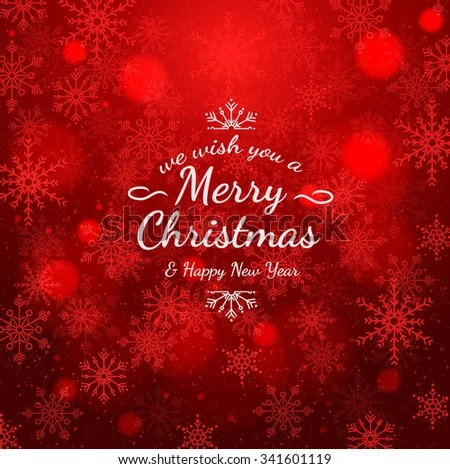 Sample Christmas Cards Colorful Text Texture Stock Vector (Royalty