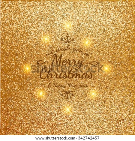 Sample Christmas Cards Colorful Text Bright Stock Vector (Royalty