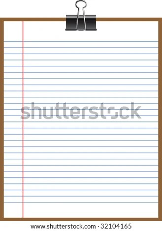 Sample Notebook Stock Vector (Royalty Free) 32104165 - Shutterstock