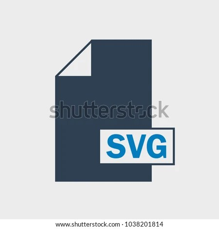 Scalable Vector Graphics SVG File Format Stock Vector (Royalty Free