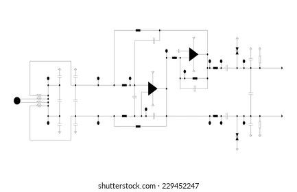electric circuit diagram Images, Stock Photos  Vectors Shutterstock