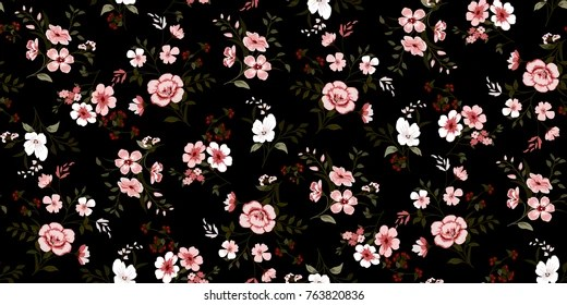 floral pattern Images, Stock Photos  Vectors Shutterstock