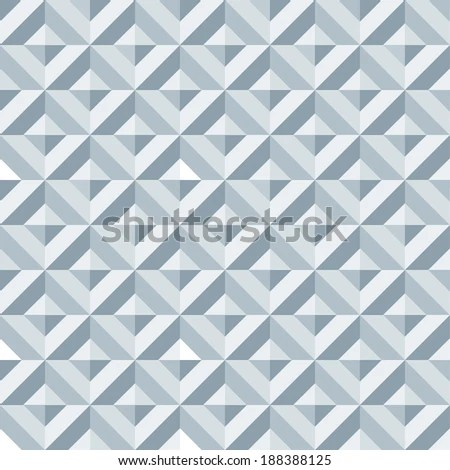 Seamless Multi Facet Wall Texture Pattern Stock Vector (Royalty Free