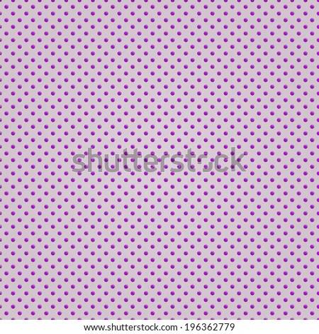 Seamless Pink Polka Dot Background Pattern Stock Vector (Royalty