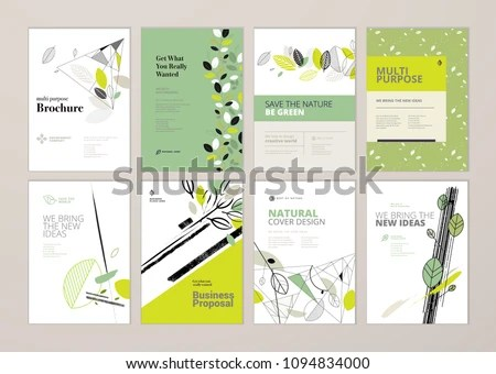 Business Templates For Brochure, Magazine, Flyer, Booklet Or