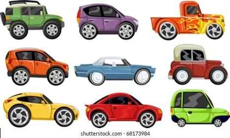 cartoon cars Images, Stock Photos  Vectors Shutterstock