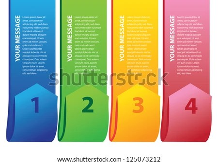 Simple Layout Design Alphabet Area Own Stock Vector (Royalty Free