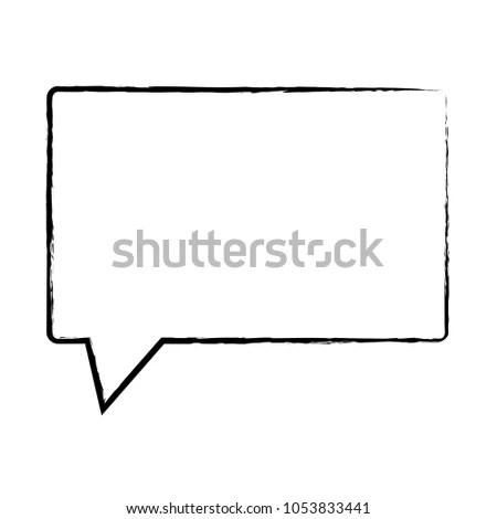 Speech Bubble Design Stock Vector (Royalty Free) 1053833441