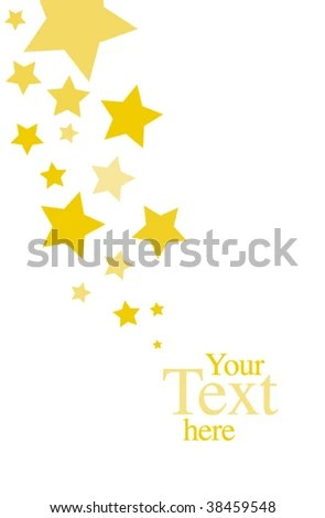 Stars Invitation Template Stock Vector (Royalty Free) 38459548