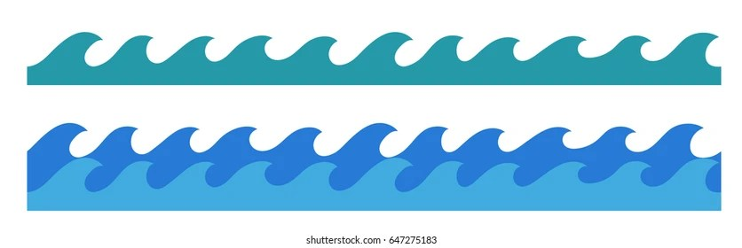 Wave Border Images, Stock Photos  Vectors Shutterstock