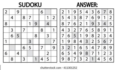 sudoku Images, Stock Photos  Vectors Shutterstock