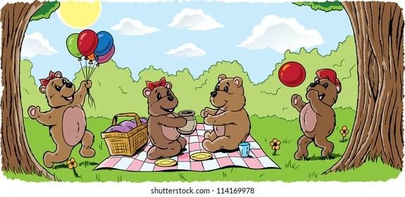 Cartoon Teddy Bear Images Stock Photos Vectors