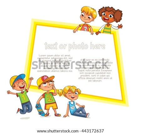 Template Advertising Brochure Ready Your Message Stock Vector