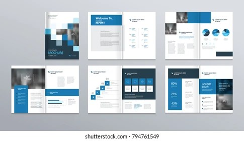 Company Profile Template Images, Stock Photos  Vectors Shutterstock - profile company template
