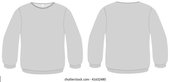 Sweater Template Images, Stock Photos  Vectors Shutterstock
