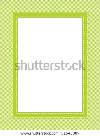 This Vector Illustration Green Frame Great Stock Vector (Royalty